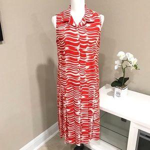 CABI Sleeveless Drop Waist Dress